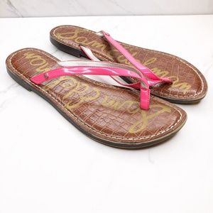 SAM EDELMAN Gracie Sandals Flip Flops 8